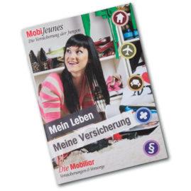 Broschüre A5 für Mobijeune (Die Mobiliar)